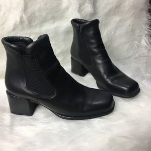 Ecco Leather Ankle Boots size 38